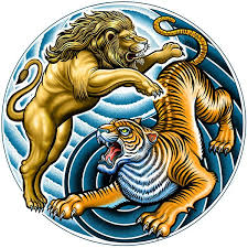 and tiger yin yang illustration hire an illustrator