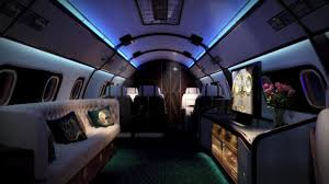 luxury private jets this stunning private jet with 5 separate rooms is as luxurious as