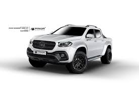 widebody supra mercedes benz x class gets widebody kit from prior designs motor