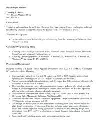 resume templates for a buyer fashion buyer resume foodcity me