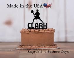 lacrosse cake topper etsy