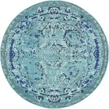 Outdoor Round Rugs by Rugs Round Rug Blue Yylc Co
