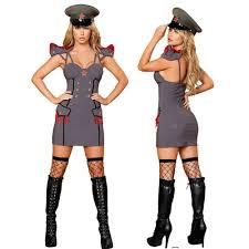 Italian Halloween Costume Aliexpress Buy Woman Grey Police Officer Costume