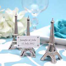 eiffel tower favors eiffel tower place card holders 4 pcs wedding favors