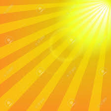 bright yellow sun with rays abstract travel background royalty free