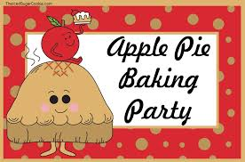 apple thanksgiving sale apple pie baking party food label tent cards fall printable diy