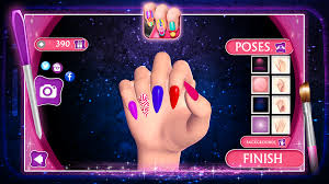 nail art design manicure games android apps on google play