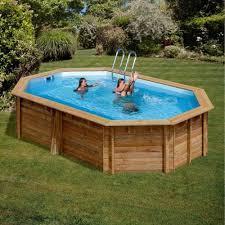 rivestimento in legno per piscine fuori terra piscina in legno avila ovale 942x592 h 146 cmpiscina terrapools ovale