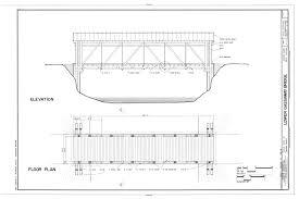 Elevation Floor Plan File Elevation Floor Plan Lower Gassaway Bridge State Route