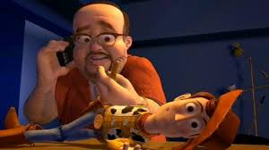 disney opens toy box toy story 2 manic expression