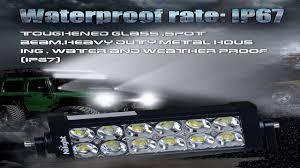 Led Light Bar Driving Lights by Nilight 22 120w Led Light Bar Flood Spot Combo Work Light Driving