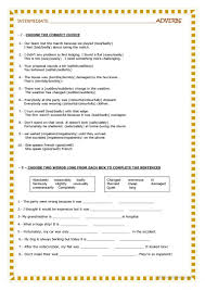 adjectives and adverbs worksheet free esl printable worksheets