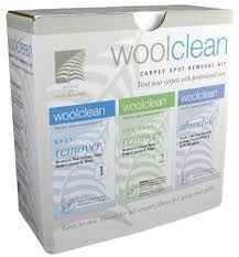 woolclean spot removal kit three part kit for wool carpet