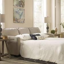 signature design by ashley alenya queen sofa sleeper quartz