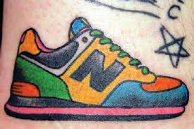 sneaker tattoo dance shoes tattoes pinterest shoe tattoos