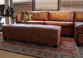 Large Leather Sofa 100 Aniline Leather Sectional Sofa With