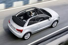 convertible audi used 2014 audi a1 cabriolet rendering autoevolution