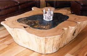 tables made from logs bear creek builders log furniture artisan