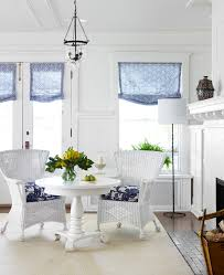 Wicker Kitchen Furniture by Painted Wicker Furniture Kitchen Transitional With Colorful