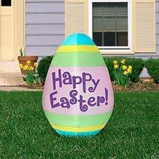 Easter Egg Yard Decorations by Collections Etc Inflatable Happy Easter Egg Yard Decoration Ebay