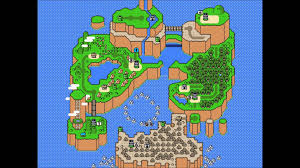 World Map Cartoon by Super Mario World World Map Youtube