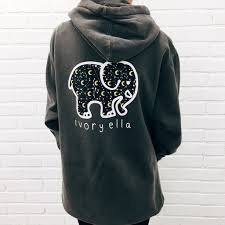 i this ivory ella hoodie and i love that the money goes to save