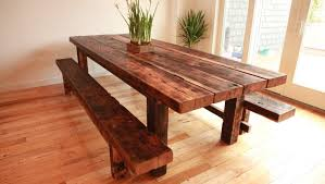 Dining Room Sets With Bench Bench Rustic Dining Room Table Set Amazing Rustic Wood Bench