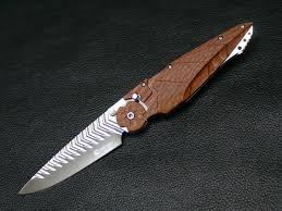 kabuto dew hara custom tactical folding knife custom knives