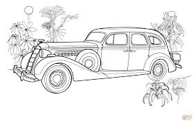 vintage car coloring page free printable coloring pages