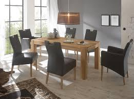 Esszimmer Montana Eiche Tischgruppe Eiche Esstisch Barnet 2 Sessel Barak 4 Stühle