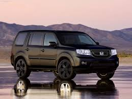 honda pilot road parts honda pilot blacked out just need those rims now ideas