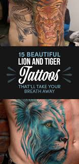 15 stunning and tiger tattoos that you ll want on your