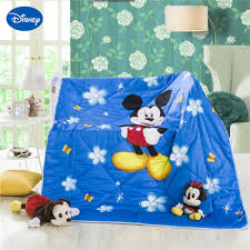 blue color mickey mouse summer quilts comforter children u0027s boys