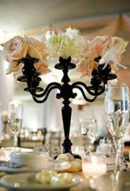 Cheap Candelabra Centerpieces Coyea U0027s Blog Turquoise Pairing For Wedding Picture Of A Black And