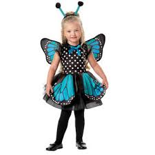 2t Toddler Halloween Costumes Totally Ghoul Toddler Blue Monarch Butterfly Halloween Costume