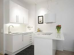 Small Apartment Kitchen Ideas Kitchen With Simple Cabinets Table Small Space Country Green