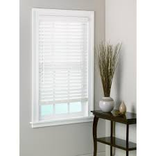 usa white bamboo window blinds 2 inch slats 52x72 size 52 x 72
