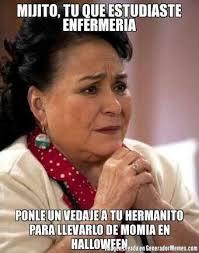 Memes Del Buki - mijito tu que estudiaste enfermeria ponle un vendaje a tu