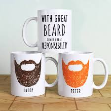 Unusual Mugs Personalised U0027great Beard U0027 Man Mug By Oakdene Designs
