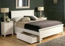 King Size Bed Storage Frame Bed Frame Storage Drawers Bookcase Platform Storage Bed King Size