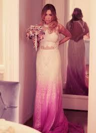 leila shams wedding dress purple wedding dress ombré wedding