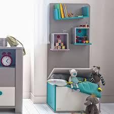 bibliothèque chambre bébé bibliothèque taupe avec coffre à jouets pour chambre bébé enfant