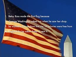 Did Betsy Ross Make The First American Flag Betsy Ross By Christina Collins