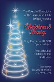 printable office christmas party invitation
