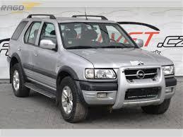 opel frontera 4x4 prodej opel frontera 2 2 dt limited 4x4 klima litá terenní vozidlo