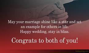 happy wedding message wedding wishes for friend messages and greetings wishesmsg