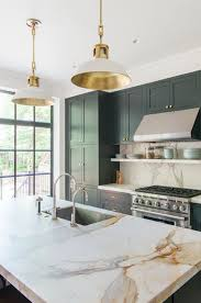 dark green kitchen cabinets 2018 kitchen trend blue and green cabinets realty times