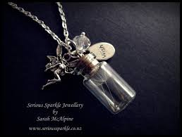 wish bottle necklace images Handmade three wishes in a bottle necklace 29 90 serious JPG