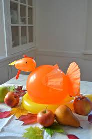 easy balloon turkey centerpiece your kids will love u2014 super make it