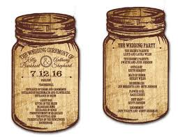 jar wedding programs custom wedding invitations wedding fans baby shower birthday